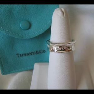 Tiffany & CO 1837 sterling silver ring🖤